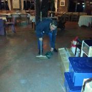 Nettoyage après prestation!!!