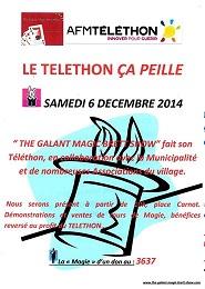 Affiche telethon 2014 peille 1