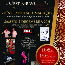 Hd diner spectacle 2017