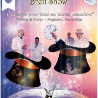 New Affiche The Galant Magic Brett Show
